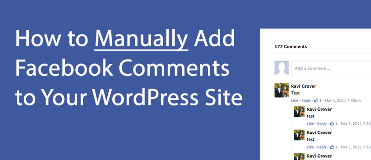 Installing Facebook Comments in WordPress